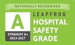 Leapfrog Hospital Safety Grade A